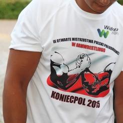 Szybkoschnący T-shirt FRUIT OF THE LOOM® Perfomance z nadrukiem reklamowym