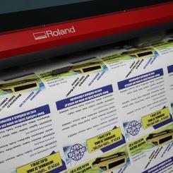 Plakaty reklamowe A3 (297x420) pakiet 10 szt Papier powlekany 140 gr/m2
